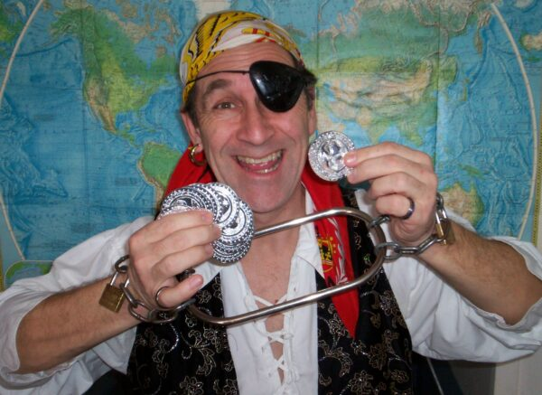 Pirate Pete- Childrens magic show character