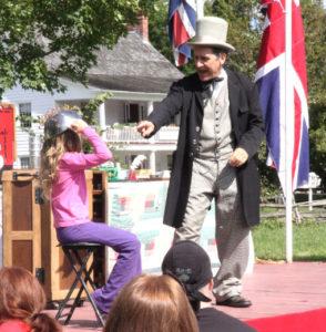 Doc at Upper Canada Village